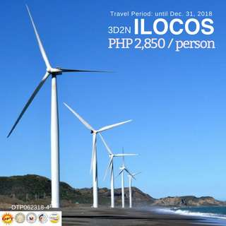 3D2N ILOCOS TOUR PACKAGE