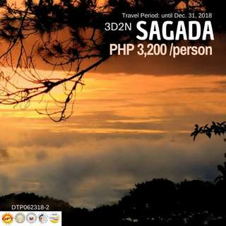 3D2N SAGADA TOUR PACKAGE