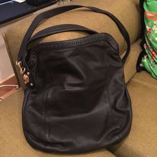 Gucci Black Leather Bag