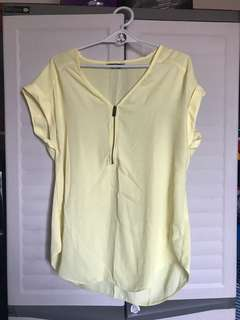 F&F Yellow Blouse