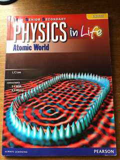 Physics in Life Atomic World Elective DSE Pearson