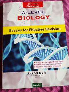 A LEVEL Biology essays for effective revision