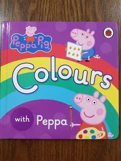 Board Book - Learn Colours with Peppa