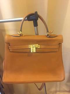 Hermes Kelly Brown Bag For Sale