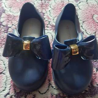 Mini Mel  Blue close shoe