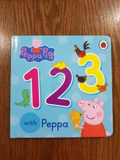 Board Book - Learn 123 with Peppa