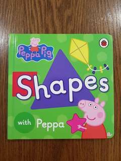 Board Book - Learn Shapes with Peppa