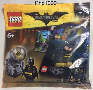 The Lego Batman Movie Pouch Pack
