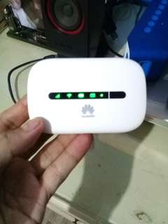 Huawei pocket LTE wifi openline