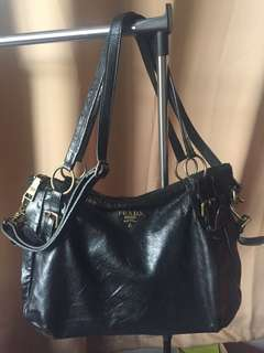 Prada Black Satchel Classy Bag for Sale
