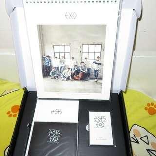 EXO 15SG Global版枱曆