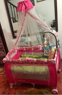 Giant Carrier Crib Playpen