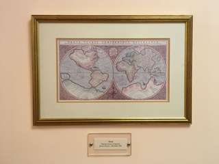 Antique Map Reproduction - World