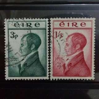 [lapyip1230] 愛爾蘭共和國 1951年 舊票全套 Set VFU