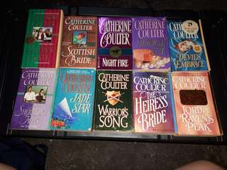 17 books - Catherine Coulter