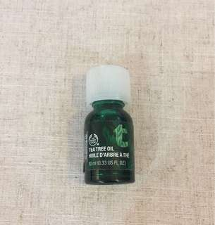 New* Body Shop Tea Tree Oil