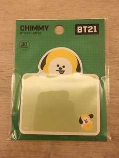 BT21 Chimmy Memo