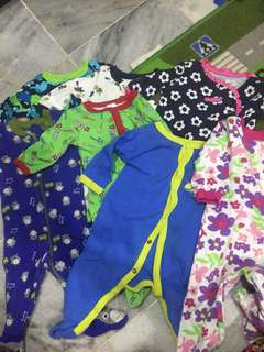 Assorted Newborn Sleepsuit