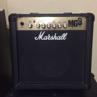 Marshall MG 15R Guitar Amplifier
