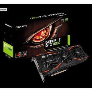 Gigabyte GTX 1080 WINDFORCE OC 8G