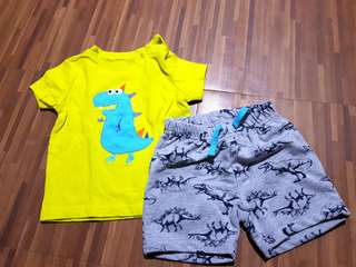 Matching T-Shirt and Shorts 6 months