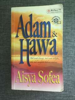 (MALAY NOVELS TO GO @$5 EACH) Adam & Hawa