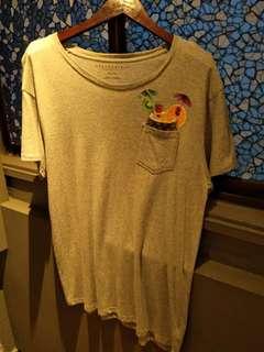 Aeropostale XL/TG Grey T Shirt