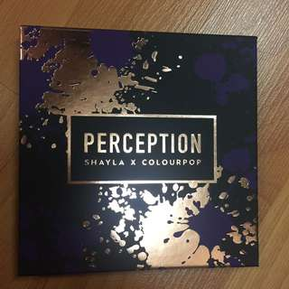 Colourpop shadow palette - perception