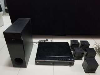 LG 5.1 Home Theatre System 3D Bluray