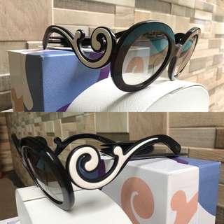 REPRICED!! Authentic Prada Minimal Baroque Oval Sunglasses