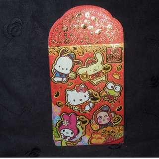 Sanrio Hello Kitty Pochacco Purin My Melody 利事封 信封