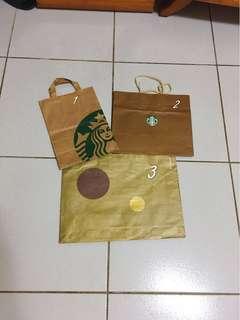 🚚 品牌紙袋 starbucks