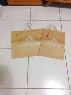 🚚 品牌紙袋 adidas
