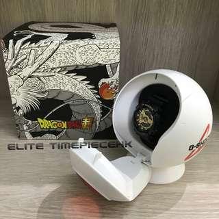 """全新現貨 Casio G SHOCK 35th x 日本東映動畫 """"龍珠超"""" Dragon Ball Super GA-110GKZ """"黑金悟空""""限量紀念版 連太空艙錶盒"""