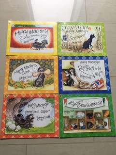Brand new Hairy Maclary 6-Book Collection