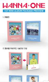 [RESTOCK] WANNA ONE - TO BE ONE ALBUM