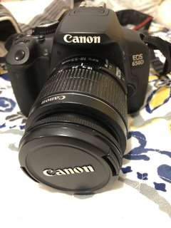 Canon 650D with Kit Lens