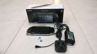 Sony PSP 2000 (with 46gb card, 60 games)