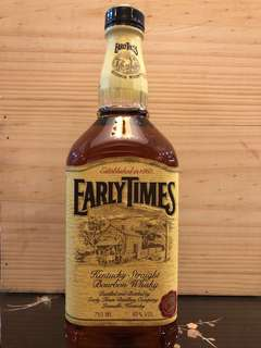 Early Times Bourbon Whisky 1860 Classic