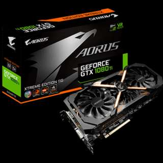 Gigabyte AORUS GTX 1080 Ti Xtreme Edition