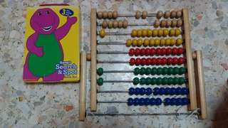 Barney Search & Spot + Abacus