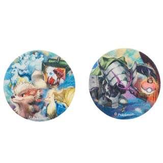 [PO] Pokemon Center Exclusive Badge B Hyaku Poke Yako