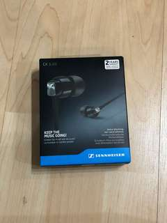 Sennheiser CX3.00 noise blocking ear canal phones