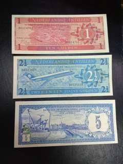 Netherlands Antilles 1 21/2 5 gulden