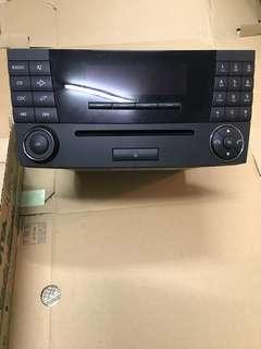 M.Benz 原廠 收音機/CD 機