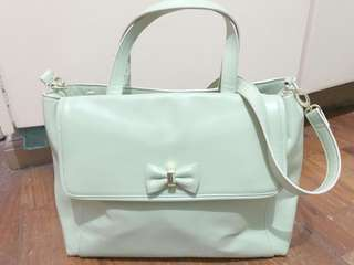 Therapy Apple Green 2 way Bag