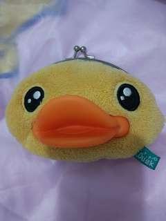 B duck 鴨仔銀包 散紙包 purse