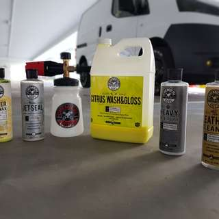 Car wash / snow wash / chemical guys / jet seal / butter wet wax / citrus wash & gloss / mobile groomers