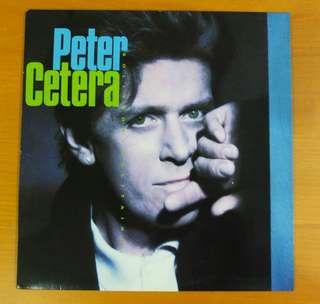 Vinyl LP Peter Cetera <Solitude/Solitaire>
