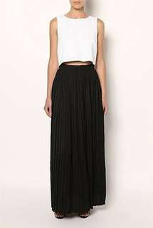 Witchery Pleated Maxi Skirt 6
